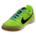 Nike Tiempo Natural IV IC Junior (Volt/Back/Green Glow)