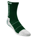 TRUSOX Crew Length Sock-Thin (Dark Green)