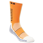 TRUSOX Crew Length Sock Thin (Orange)