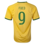 Brazil 14/15 FRED Home Soccer Jersey