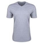 Men's V-Neck Tee (Gray)