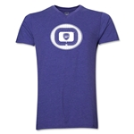 Arsenal Emirates Stadium V-Neck T-Shirt (Heather Purple)