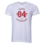 Bayer Leverkusen V-Neck T-Shirt (White)
