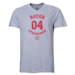Bayer Leverkusen V-Neck T-Shirt (Gray)