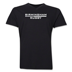 Birmingham Rugby V-Neck T-Shirt (Black)