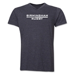 Birmingham Rugby V-Neck T-Shirt (Dark Gray)