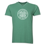 Celtic V-Neck T-Shirt (Heather Green)
