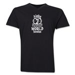 Aloha World Sevens V-Neck T-Shirt (Black)