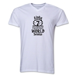 Aloha World Sevens V-Neck (White)