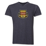 Ft. Lauderdale Strikers V-Neck T-Shirt (Dark Gray)