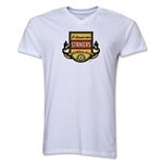Ft. Lauderdale Strikers V-Neck T-Shirt (White)