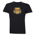 Ft. Lauderdale Strikers V-Neck T-Shirt (Black)