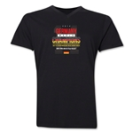 Germany 2014 FIFA World Cup Brazil(TM) Men's V-Neck Champions 14 T-Shirt (Black)