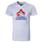 France FIFA U-20 World Cup 2013 Winners V-Neck Top