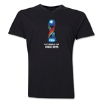 FIFA U-17 World Cup Chile 2015 Core V-Neck T-Shirt (Black)