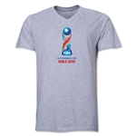 FIFA U-17 World Cup Chile 2015 Core V-Neck T-Shirt (Grey)