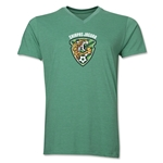 Jaguares de Chiapas Men's V-Neck T-Shirt (Heather Green)