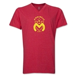 Monarcas Distressed Men's V-neck T-Shirt