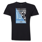 Newcastle United NUFC V-Neck T-Shirt (Black)