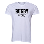 Rugby Oregon V-Neck T-Shirt (White)