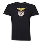 Benfica V-Neck T-Shirt (Black)