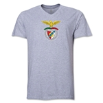 Benfica V-Neck T-Shirt (Grey)