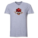 Trinidad and Tobago Warriors Men's V-Neck T-Shirt (Gray)