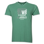 Werder Bremen SVWB V-Neck T-Shirt (Heather Green)