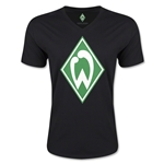 Werder Bremen Core V-Neck T-Shirt (Black)