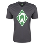 Werder Bremen Core V-Neck T-Shirt (Dark Gray)