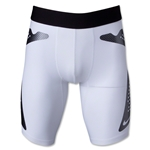 Nike Pro Combat Hyperstrong Slider Short (White)