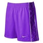 Nike Women's E4 Woven Short (Purple)