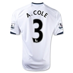 Chelsea 12/13 Ashley Cole Away Soccer Jersey