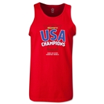 USA CONCACAF Gold Cup 2013 Champions Tank Top (Red)