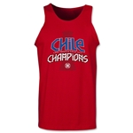Chile Copa American 2015 Champions Tank Top (Red)