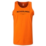 Netherlands FIFA Beach World Cup 2013 Tanktop (Orange)