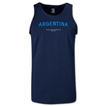 Argentina FIFA Beach World Cup 2013 Tanktop (Navy)