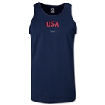 USA FIFA Beach World Cup 2013 Tanktop (Navy)