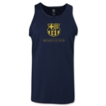 Barcelona Mes Que Un Club Tank Top (Navy)