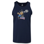 1994 FIFA World Cup Striker Mascot Tank Top (Navy)
