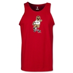 2006 FIFA World Cup Goleo VI Mascot Tank Top (Red)
