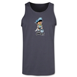 1978 FIFA World Cup Gauchito Mascot Tank Top (Dark Grey)