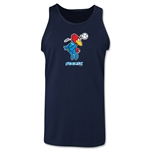 1998 FIFA World Cup Footix Mascot Tank Top (Navy)