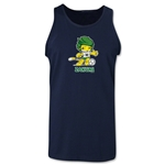 2010 FIFA World Cup Zakumi Mascot Tank Top (Navy)