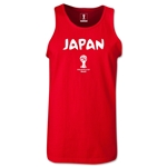 Japan 2014 FIFA World Cup Brazil(TM) Men's Core Tank Top (Red)