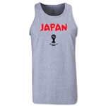Japan 2014 FIFA World Cup Brazil(TM) Men's Core Tank Top (Grey)