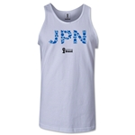 Japan 2014 FIFA World Cup Brazil(TM) Men's Elements Tank Top (White)