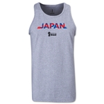 Japan 2014 FIFA World Cup Brazil(TM) Men's Palm Tank Top (Grey)