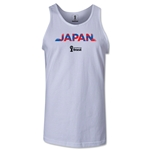 Japan 2014 FIFA World Cup Brazil(TM) Men's Palm Tank Top (White)