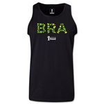 Brazil 2014 FIFA World Cup Brazil(TM) Men's Elements Tank Top (Black)
